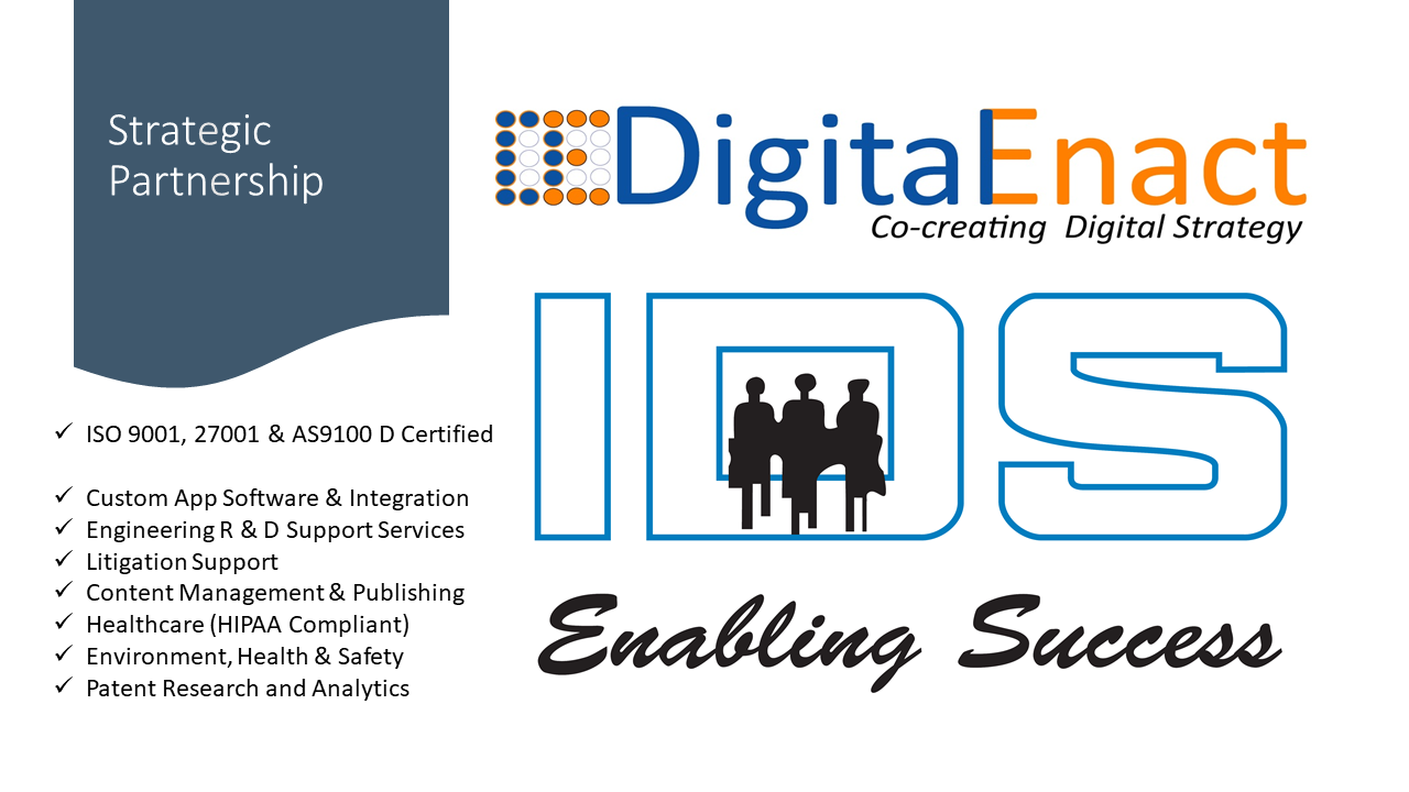 Digital Enact IDS Strategic Partnership